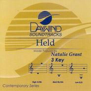 Held, Accompaniment CD   -     By: Natalie Grant