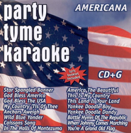 Party Tyme Karaoke: Americana CD (16 Track Version)   -