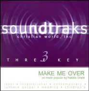 Make Me Over, Accompaniment CD   -              By: Natalie Grant