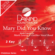 Mary Did You Know, Acc CD   -              By: Mark Lowry, Gaither Vocal Band