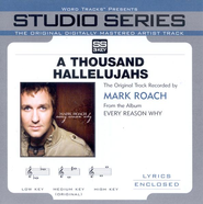 A Thousand Hallelujahs [Studio Series Performance Track]  [Music Download] -     By: Mark Schultz