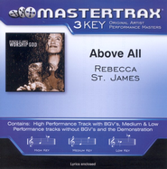 Above All (Key-D-Premiere Performance Plus)  [Music Download] -     By: Rebecca St. James