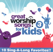 Great Worship Songs for Kids 3 CD   -