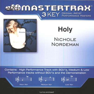 Holy (Key-Ab-Premiere Performance Plus w/ Background Vocals)  [Music Download] -     By: Nichole Nordeman