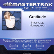 Gratitude (Key-C-D-Premiere Performance Plus w/ Background Vocals)  [Music Download] -     By: Nichole Nordeman