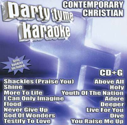 Party Tyme Karaoke: Contemporary Christian (16 Track Version) CD   -