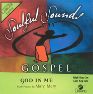 God In Me, Accompaniment CD   -     By: Mary Mary, Kiera Sheard