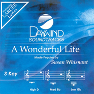 A Wonderful Life, Accompaniment CD   -     By: Susan Whisnant