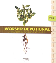 Worship Devotional: April, 2 CDs  - Slightly Imperfect  -