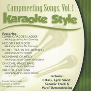 Campmeeting Songs, Volume 1, Karaoke Style CD   -     By: Various Artists