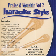 Praise & Worship, Volume 7, Karaoke Style CD   -     By: Various Artists