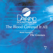 The Blood Covered It All, Accompaniment CD   -              By: The Greenes