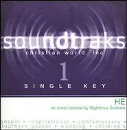 He (Single Key), Accompaniment CD   -     By: The Righteous Brothers