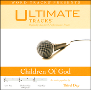 Children Of God - Low Key Performance Track w/ Background Vocals  [Music Download] -
