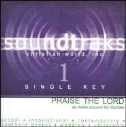Praise The Lord (Single Key), Accompaniment CD   -     By: The Imperials
