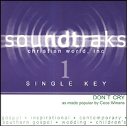 Don't Cry (Single Key), Accompaniment CD   -     By: CeCe Winans