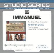 Immanuel - Original Key Performance Track w/ Background Vocals  [Music Download] -     By: Point of Grace