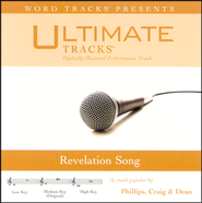 Revelation Song - Medium key performance track w/o background vocals  [Music Download] -     By: Ultimate Tracks