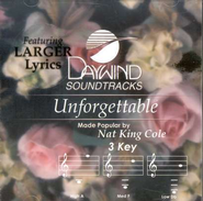 Unforgettable, Accompaniment CD   -     By: Nat King Cole