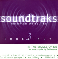 In The Middle Of Me, Accompaniment CD   -              By: Todd Agnew