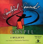 I Believe, Accompaniment CD   -     By: Fantasia Barrino