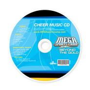 MSC Beyond the Gold: Cheer Music CD  -