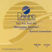 Did You Feel the Mountains Tremble, Accompaniment CD   -     By: Revival Generation