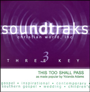 This Too Shall Pass, Accompaniment CD   -     By: Yolanda Adams