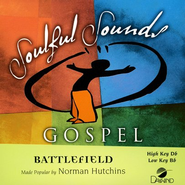 Battlefield, Accompaniment CD    -     By: Norman Hutchins