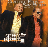 Stepping Up & Stepping Out CD   -     By: Clarence Fountain, Sam Butler, The Boys