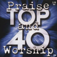 Praise & Worship Top 40, 3-CD Set   -