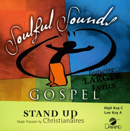 Stand Up, Accompaniment CD    -     By: The Christianaires
