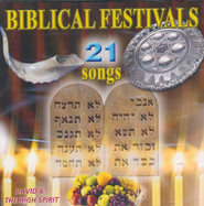 Biblical Festivals, Music CD  -     By: David & The High Spirit