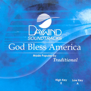 God Bless America, Accompaniment CD   -     By: Traditional