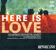 Here Is Love--CD/DVD   -     By: Bethel Live