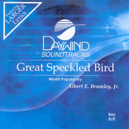 Great Speckled Bird, Accompaniment CD   -