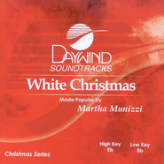 White Christmas, Accompaniment CD   -     By: Martha Munizzi