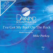 I've Got My Foot Of The Rock, Acc CD    -     By: Mike Purkey