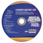 MSC Breaking Free Cheer Music CD  -