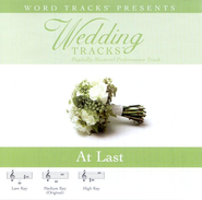 Wedding Tracks - At Last [Performance Track]  [Music Download] -