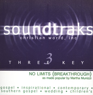 No Limits (Breakthrough), Accompaniment CD   -              By: Martha Munizzi