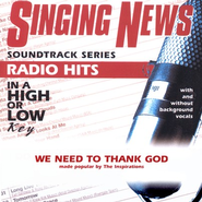 We Need To Thank God, Accompaniment CD   -     By: The Inspirations