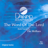 The Word Of The Lord, Accompaniment CD   -     By: The McRaes