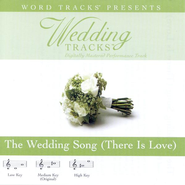 The Wedding Song - Medium key performance track w/o background vocals  [Music Download] -