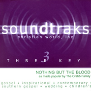 Nothing But The Blood, Accompaniment CD   -     By: The Crabb Family