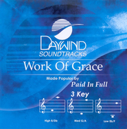 Work of Grace, Accompaniment CD   -              By: Paid In Full