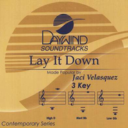 Lay It Down, Accompaniment CD   -     By: Jaci Velasquez