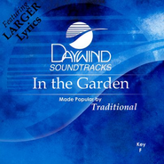 In the Garden, Accompaniment CD  - Slightly Imperfect  -