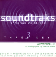 Alwaysness, Accompaniment CD   -     By: Yolanda Adams