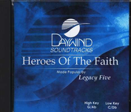 Heroes of the Faith, Accompaniment CD   -     By: Legacy Five